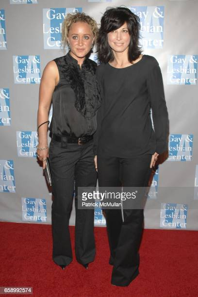 Jackie Warner and Elizabeth Keener attend LA Gay Lesbian Center Presents An Evening with Women at The Beverly Hilton on April 24 2009 in Beverly...