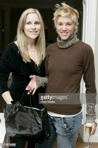 Jackie Warner and guest during 2007 Silver Spoon PreOscar Suite Day 2 at Beverly Wilshire Hotel in Los Angeles California United States Photo by...