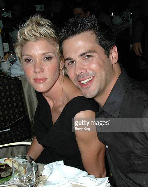Jackie Warner and Jesse Brune during LA Gay Lesbian Center 35th Anniversary Gala Inside at Hyatt Regency Century Plaza Hotel in Century City CA...