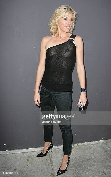Jackie Warner attends the Tan for a Cause Celebrity Mixer Event at Sunstyle Tanning on March 30 2008 in West Hollywood California