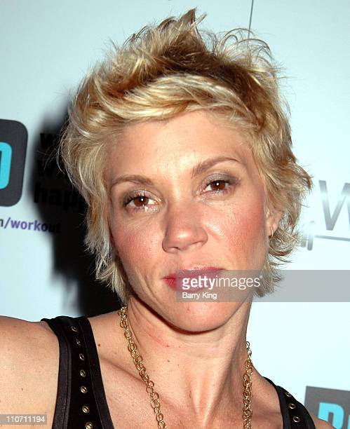 Jackie Warner during Bravo's Workout Series Season 2 Premiere Party Inside at HERE Bar Lounge in West Hollywood CA United States