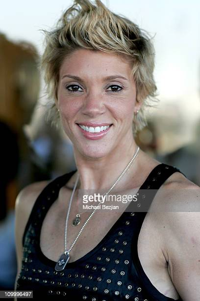 Jackie Warner during DKNY Men's Underwear Celebrity Field Day at Skysport Spa in Beverly Hills California United States
