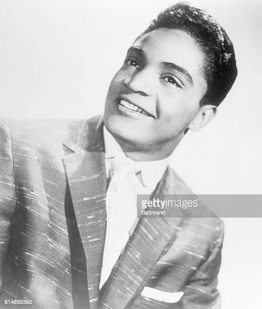 8/1960 Jackie Wilson headshot smiling