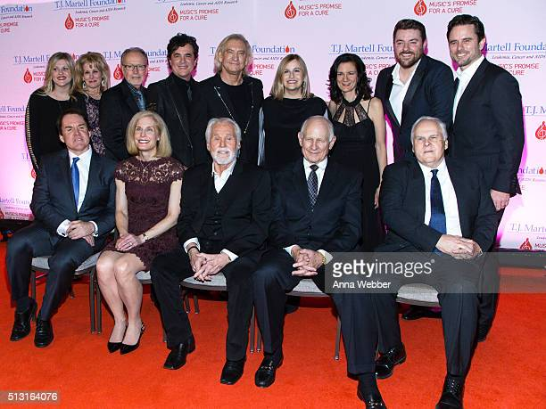 Jackie Wilson TJ Martell Foundation's Laura Heatherly Gibson's Dave Berryman Big Machine Label Group's Scott Borchetta Joe Walsh of The Eagles...