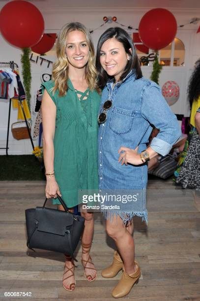 Jackie Winnick and Sabina Nathanson attend Little Marc Jacobs Celebration benefitting Baby2Baby on March 9 2017 in Los Angeles California