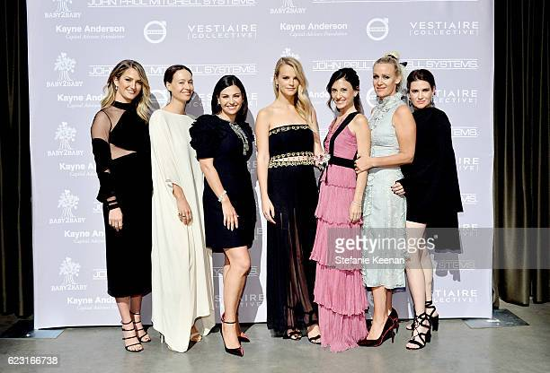 Jackie Winnick designer Jenni Kayne Sabina Nathanson copresidents of Baby2Baby Kelly Sawyer Patricof and Norah Weinstein Ali Taekman and Yifat Oren...