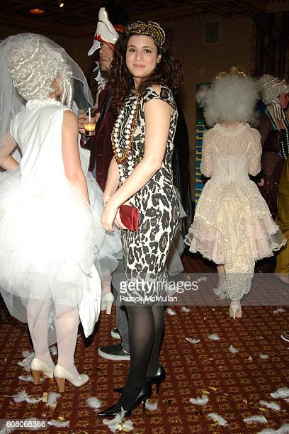 Jackie Yermus and Melanie Schwam attend MARC JACOBS 2006 Holiday Party at Gotham Hall on December 13 2006 in New York City