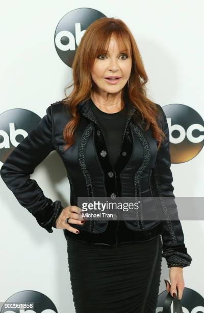 Jackie Zeman attends the Disney ABC Television Group hosts TCA Winter Press Tour 2018 held at The Langham Huntington on January 8 2018 in Pasadena...