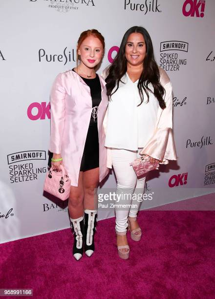 JackieOProblems and Claudia Oshry attend OK Magazine Summer Kickoff Party at Magic Hour at Moxy Times Square on May 15 2018 in New York City