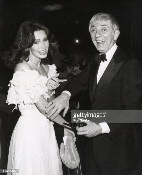 Jacklyn Smith and Aaron Spelling during The Love Boat Honors Helen Hayes at Beverly Hilton Hotel in Beverly Hills California United States