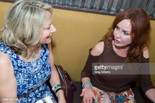 Jacklyn Zeman signs autographs for fans at 'The Bay' Cast Host Fan Appreciation Event on July 27 2018 in Glendale California