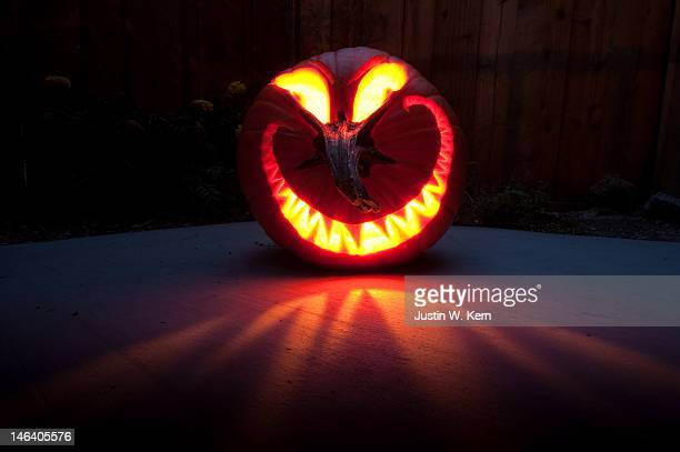 jack-o-lantern - naughty halloween stock photos and pictures