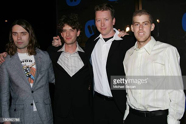 Jack's Mannequin and Andrew McMahon during 2006 Warner Music Group GRAMMY Arrivals in Los Angeles, California, United States.