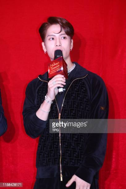 Jackson attended the opening ceremony of his own wax statue at Hong Kong Madame Tussaud¡®s on 29 July, 2019 in Hongkong,China.