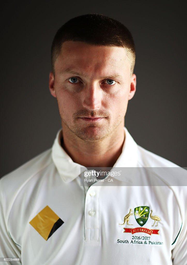 2016-17 Australia Test Team Headshots Session