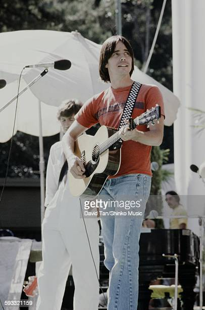 Jackson Browne and Graham Nash at Palmetto Alliance benefit concert unknown April 21 1978