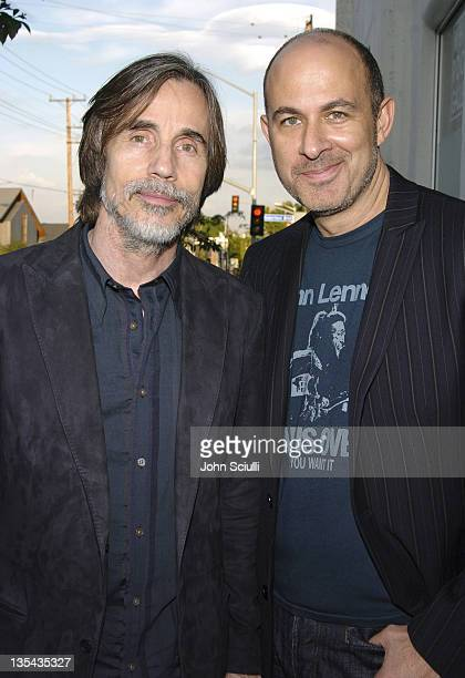 Jackson Browne and John Varvatos during The John Varvatos 3rd Annual Stuart House Charity Benefit Inside and Arrivals at John Varvatos Boutique in...