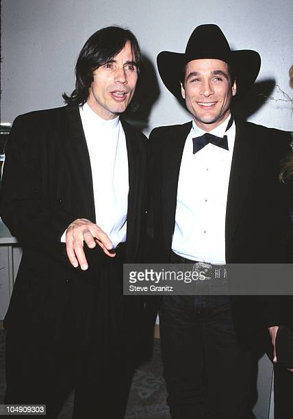 Jackson Browne Clint Black during The 11th Annual ASCAP Pop Music Awards at Beverly Hilton Hotel in Beverly Hills California United States