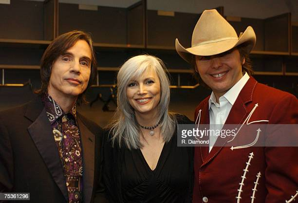 Jackson Browne Emmylou Harris and Dwight Yoakam
