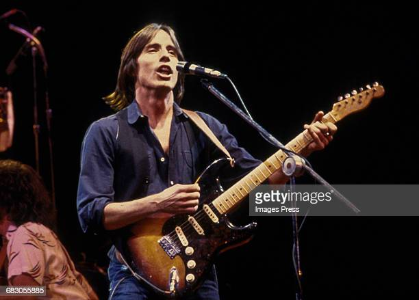 Jackson Browne in concert circa 1979 in New York City