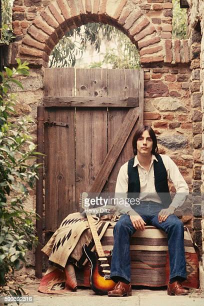 Jackson Browne in Courtyard