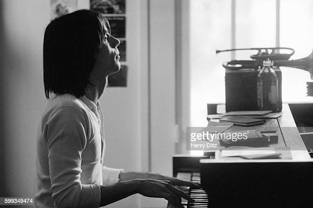 Jackson Browne Playing Piano