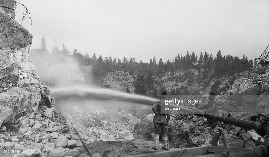 Hydraulic Mining Pictures | Getty Images
