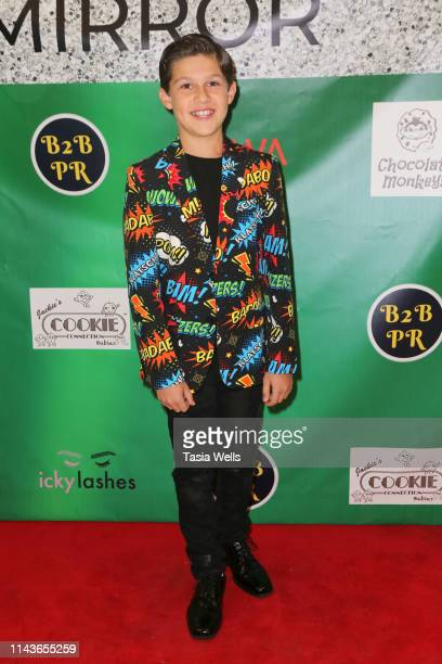 Jackson Dollinger attends Issie Swickle Celebrates the Release of Her New Single Mirror at The Industry Loft Space on April 18 2019 in Hollywood...