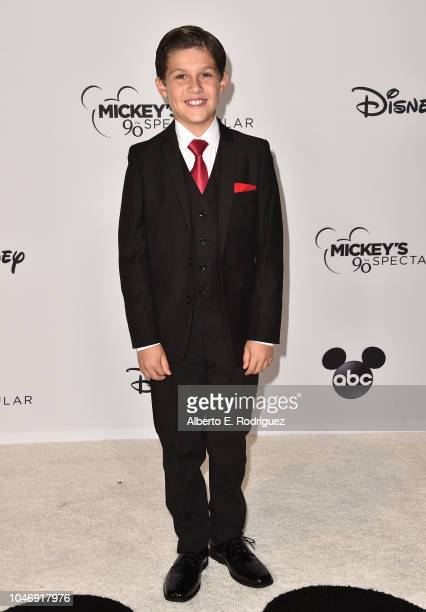 Jackson Dollinger attends Mickey's 90th Spectacular at The Shrine Auditorium on October 6 2018 in Los Angeles California