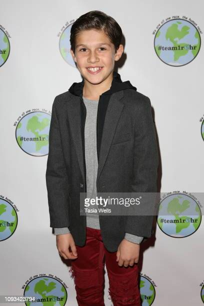 Jackson Dollinger attends Tehran Von Ghasri and Isaak Presley host #Team1rhr Unity Event at Live House on January 12 2019 in Los Angeles California