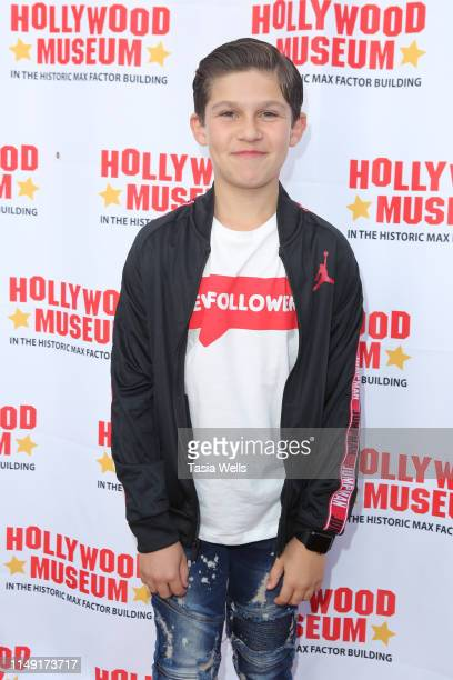 Jackson Dollinger attends The Hollywood Museum Celebrates Batman's 80th Anniversary at The Hollywood Museum on May 14 2019 in Hollywood California