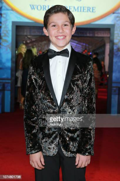 Jackson Dollinger attends the Premiere Of Disney's 'Mary Poppins Returns' at El Capitan Theatre on November 29 2018 in Los Angeles California