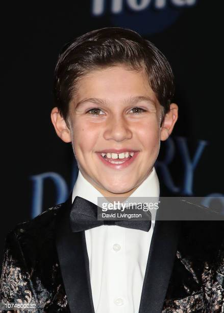 Jackson Dollinger attends the premiere of Disney's Mary Poppins Returns at the El Capitan Theatre on November 29 2018 in Los Angeles California