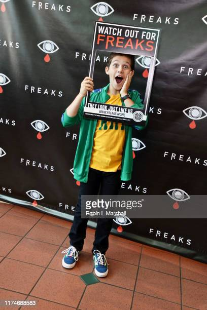 Jackson Dollinger attends the premiere of Freaks film at AMC Promenade 16 on September 14 2019 in Woodland Hills California