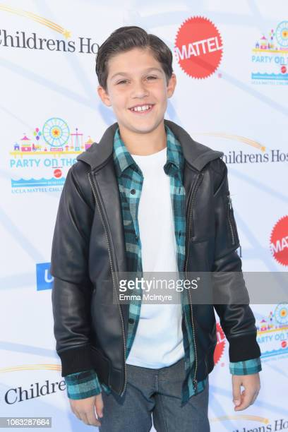 Jackson Dollinger attends the UCLA Mattel Children's Hospital's 19th Annual Party on the Pier at Santa Monica Pier on November 18 2018 in Santa...