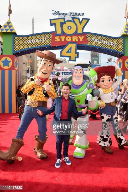 Jackson Dollinger attends the world premiere of Disney and Pixar's TOY STORY 4 at the El Capitan Theatre in Hollywood CA on Tuesday June 11 2019