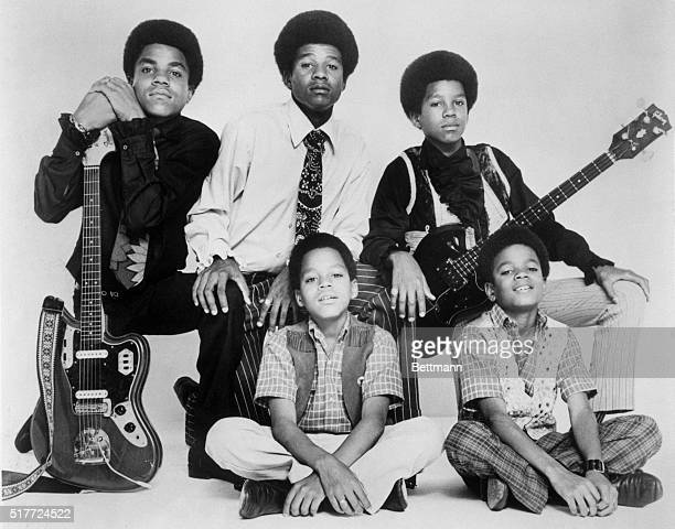 'Jackson Five' singing group Photo dated 1969