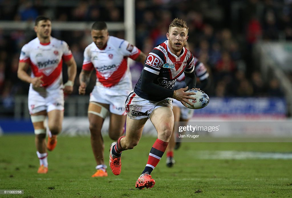 St Helens v Sydney Roosters - World Club Series : News Photo