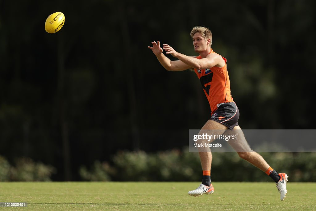 GWS Giants Media Opportunity & Training Session : News Photo