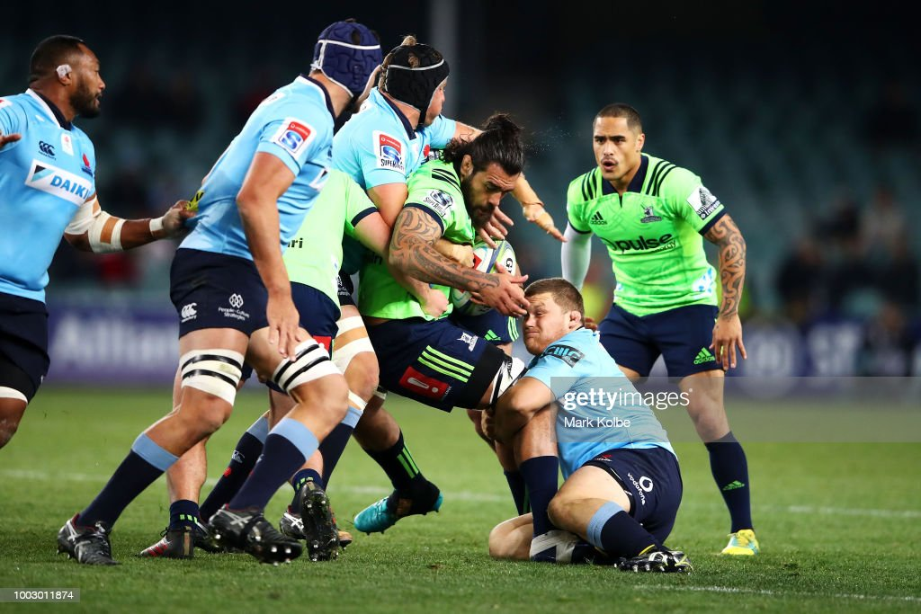 Super Rugby Qualifying Final - Waratahs v Highlanders