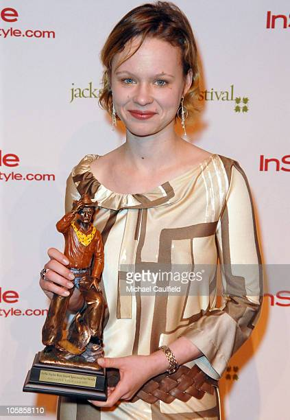 Jackson Hole Film Festival Judge and Nellie Tayloe Ross Honoree Thora Birch