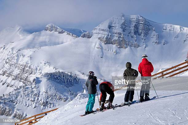 Jackson Hole Wyoming Skiers
