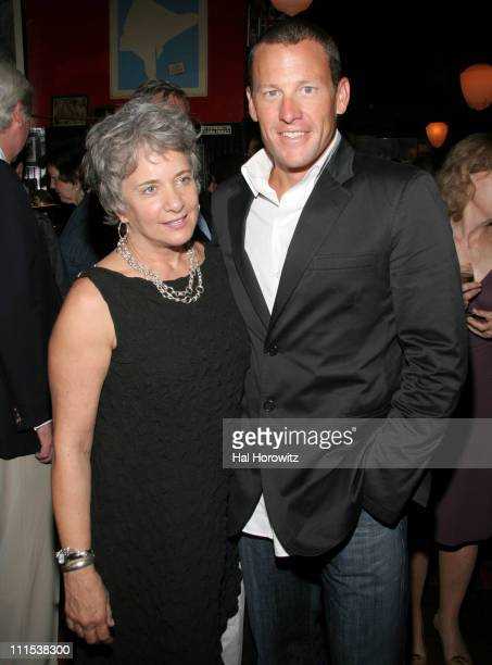 Jackson Hunsicker and Lance Armstrong during John A Walsh and Ellen Walsh host a celebration of the book Turning Heads Portraits of Grace Inspiration...