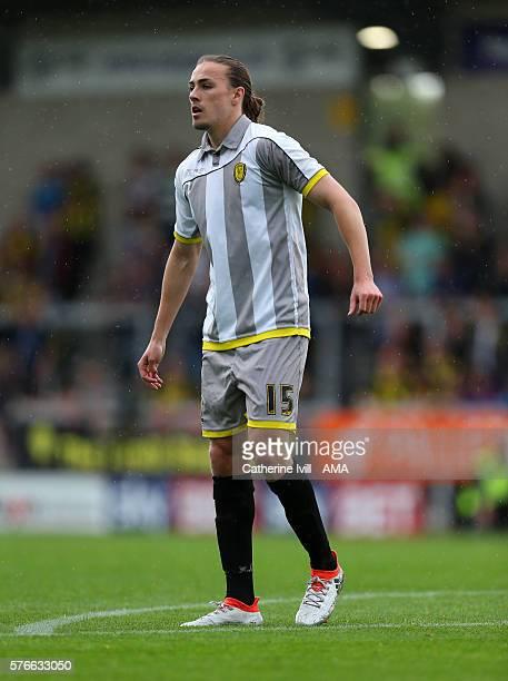 Jackson Irvine of Burton Albion during the PreSeason Friendly match between Burton Albion and Stoke City at Pirelli Stadium on July 16 2016 in...