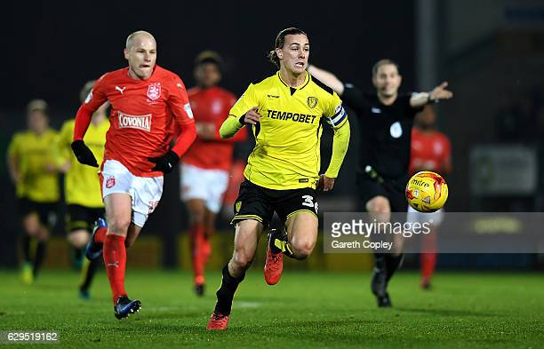 Jackson Irvine of Burton Albion gets past Aaron Mooy of Huddersfield during the Sky Bet Championship match between Burton Albion and Huddersfield...