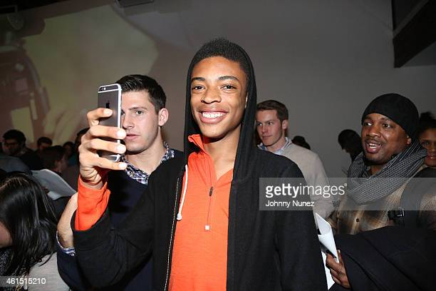 Jackson Lee attends Da Sweet Blood Of Jesus Soundtrack Listening Party Hosted By Spike Lee at Lightbox on January 13 2015 in New York City