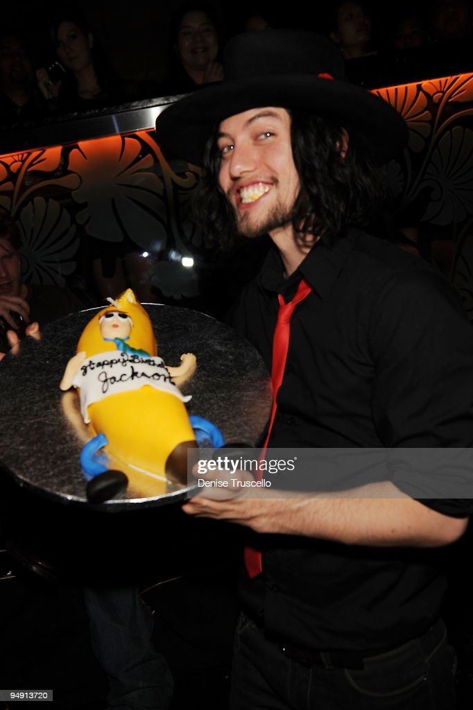 Jackson Rathbone Celebrates His Birthday At The Bank At The Bellagio Hotel