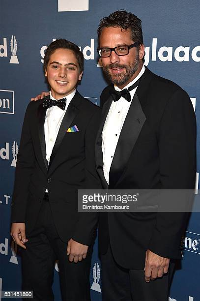 Jackson Riemerschmid attends the 27th Annual GLAAD Media Awards in New York on May 14 2016 in New York City