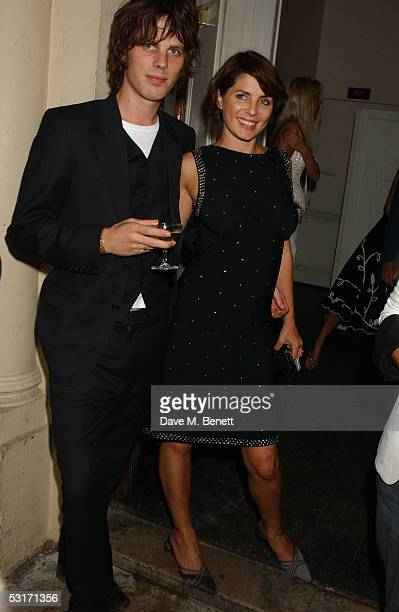 Jackson Scott and Sadie Frost attend the annual Tatler Summer Party hosted by Tatler editor Geordie Greig and also celebrating the publication of...