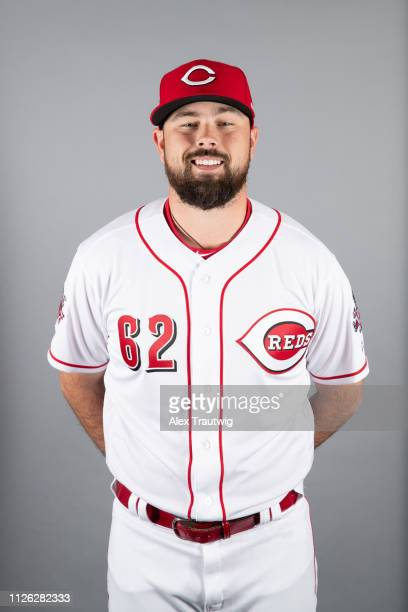 Jackson Stephens of the Cincinnati Reds poses during Photo Day on Tuesday February 19 2019 at Goodyear Ballpark in Goodyear Arizona